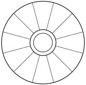 button template word empty focus wheel to print vortexfocus