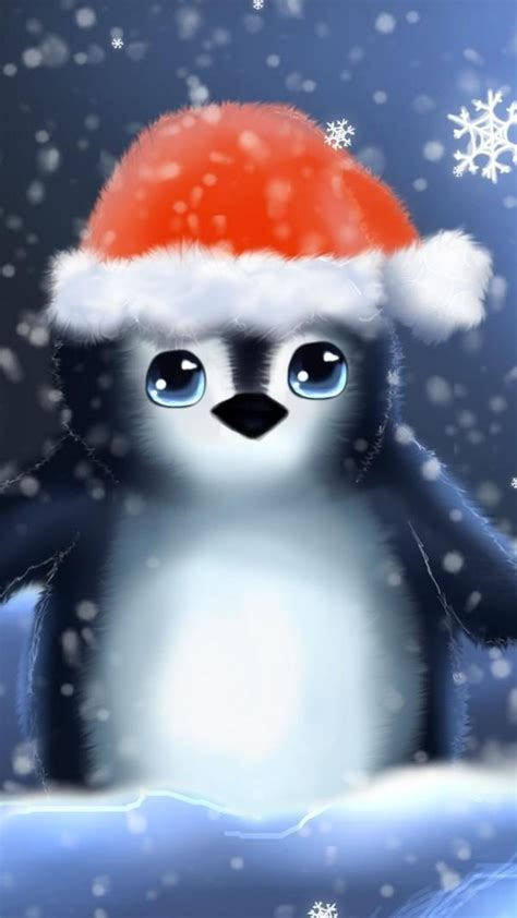 Find hd wallpapers for your desktop, mac, windows, apple, iphone or android device. Download Penguin Christmas Wallpaper Gallery