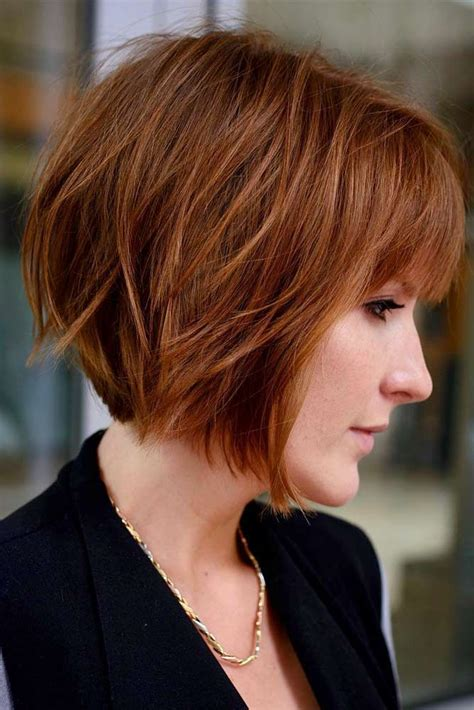 layered bob hairstyles  extra volume  dimension