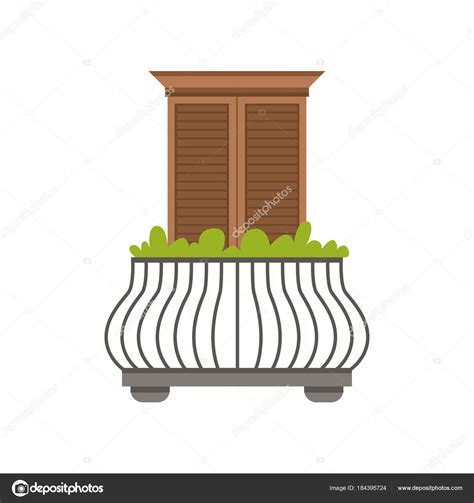 ringhiera per finestra balcone della casa europea con ringhiera in ferro battuto