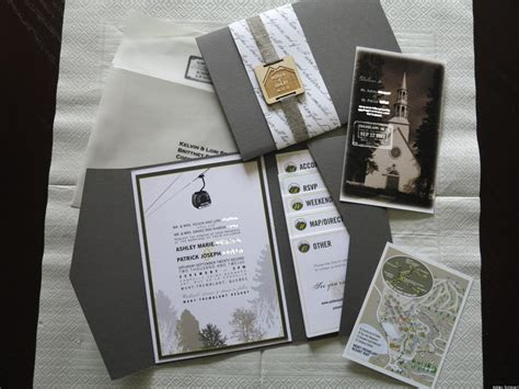 Wedding Invitation Ideas From Real Weddings (PHOTOS