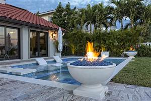 Fire, And, Water, Features, That, Enhance, Your, Backyard
