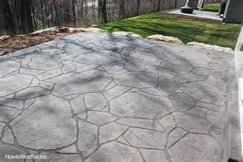 Sealed Concrete Floor by Stamped Concrete Patios Upcoming Weekend Project How