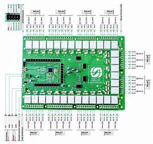 32 Channel Usb Relay Module With Gpio And Analog Inputs