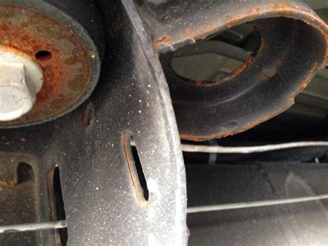 sierra hd rusting peeling undercoating  frame