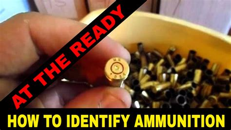 How To Identify Brass  Ammo  Headstamps By At The Ready Youtube