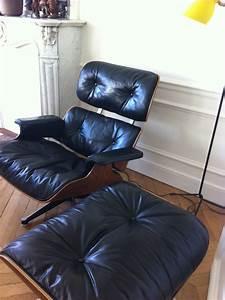 Fauteuil Charles Eames Original : fauteuil lounge chair eames dition herman miller l 39 atelier 50 boutique vintage achat et ~ Nature-et-papiers.com Idées de Décoration