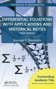 Pdf  Differential Equations With Applications And