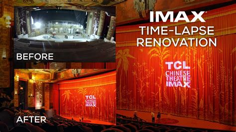 tcl chinese theatre imax renovation time lapse video