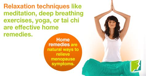 Home Remedies for Menopause | Menopause Now