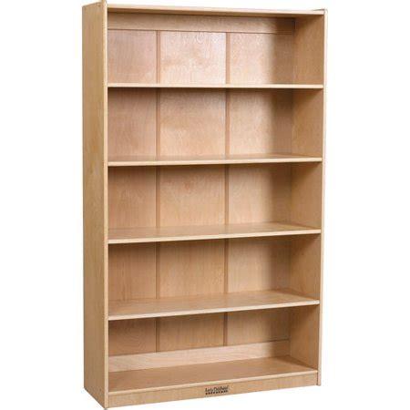 Birch Bookcases by Ecr4kids 60 Quot Birch Bookcase Walmart