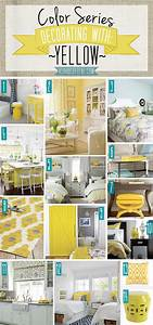 Color, Series, Decorating, With, Yellow
