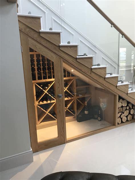 bespoke wine racking   stairs wine storage perfect   home  design  makeover