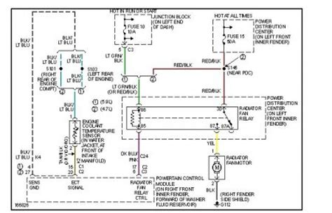 2008 Dodge Durango Wiring Diagram by 2003 Dodge Durango Electric Fan Was Looking For A Wiring