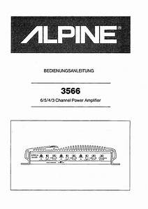Alpine 3566