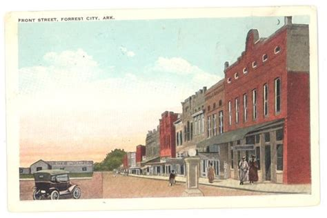 Front Street In Forrest City Ar Where Teaghan Came About