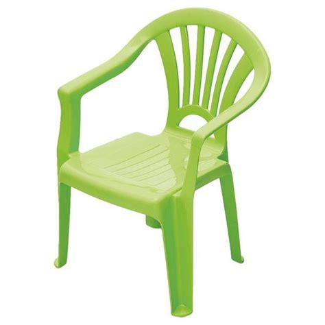 chaise de jardin en plastique chaise enfant plastique vert chaise verte pour jardin