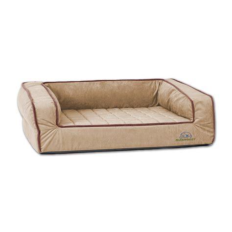 pet bed buddyrest large crown supreme bolster orthopedic