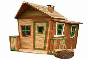 Cabane En Bois : cabane en bois pour enfant jesse de axi ~ Premium-room.com Idées de Décoration