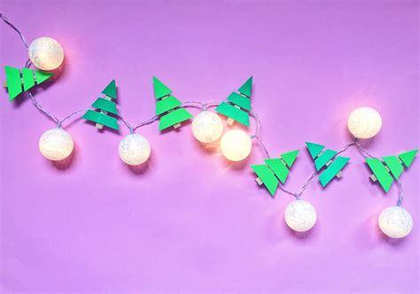 lichterkette kugeln selber machen tannenbaum lichterkette selber machen mit
