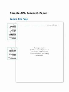 Apa Word Document Research Paper Example 5 Free Templates In Pdf Word