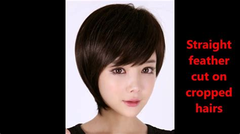 Haircuts Name With Pics||feather Cut Hairstyles For Short