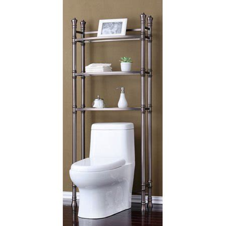 Toilet Etagere by Best Living Inc Monaco Bath Etagere Space Saver Brushed