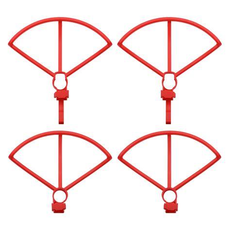 pcs propeller guard  raised legs spare parts set  hubsan hs zino rc drone quadcopter