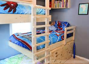 download plans to build triple bunk beds plans free