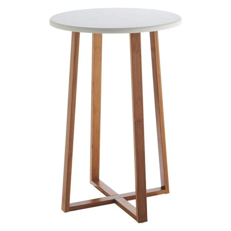 how tall are end tables drew bamboo and white lacquer tall side table buy now at