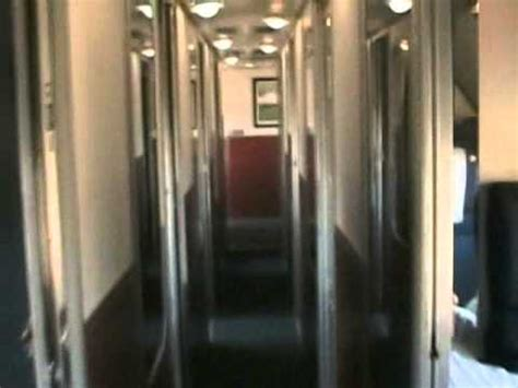amtrak superliner sleeping car tour part 1 youtube