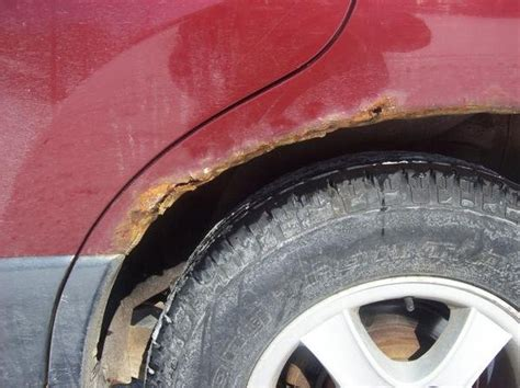 rear quarter panel rustwhat    honda tech