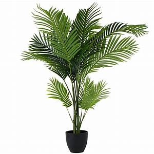 Fake Indoor Palm Trees With Lights Areca Palm 120cm Products Artificial Garden Plants