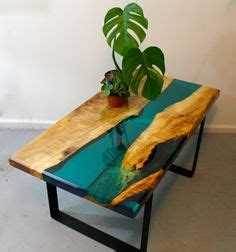 resin river coffee table images   resin