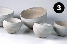 Schalen Aus Beton : tolle glatte schalen aus beton beton deko ~ Lizthompson.info Haus und Dekorationen