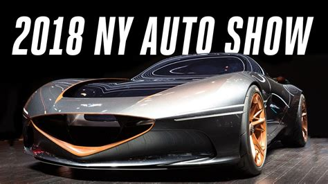 New York Car Show by 2018 New York Auto Show Top 9 Cars