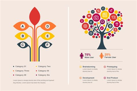 tree bundle infographic elements