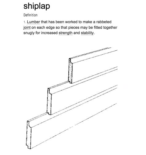 How To Make A Shiplap Joint - farmhouse built ins and the difference between shiplap