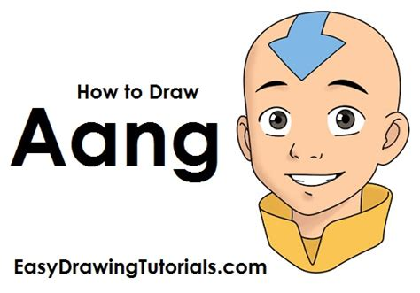How To Draw Aang (avatar