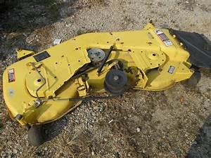 John Deere 54 U0026quot  Mower Deck Off 325 335 345 355d L U0026g Tractor