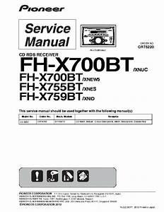 Pioneer Mixtrax Car Stereo Wiring Diagram
