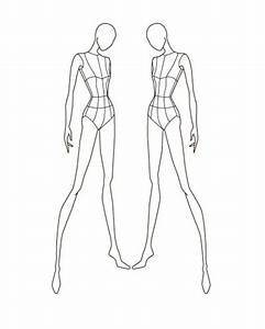 fashion sketch templates fashion figures template and With fashion designer drawing template