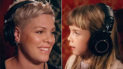 Pink Sings With Daughter Willow Sage In Heartwarming Video