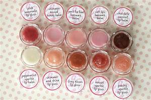 17 homemade and delicious diy lip balm recipes With how to make your own lip balm labels