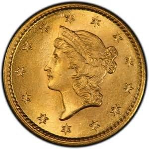 1853 Gold Liberty Dollar Coin Value