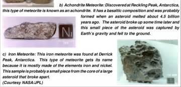 Space Rocks Meteorites