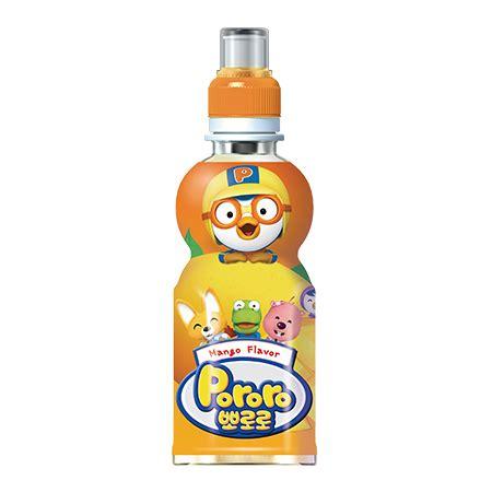 pororo blueberry pet 235ml pororo drink pet mango fides ny