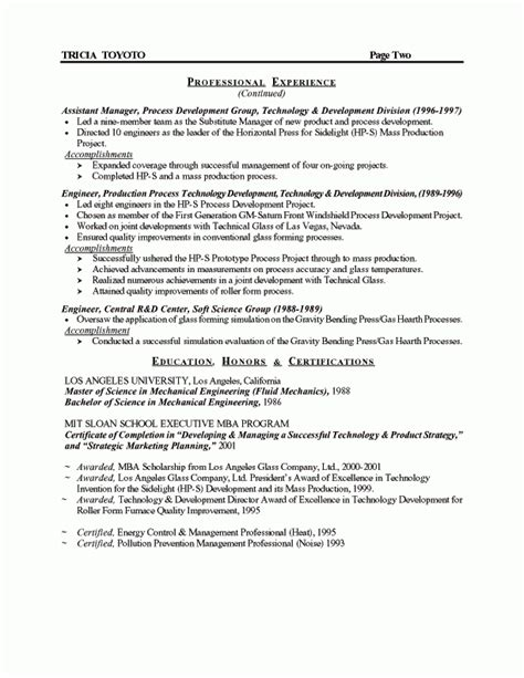 Cv templates find the perfect cv template. Manufacturing Manager Resume
