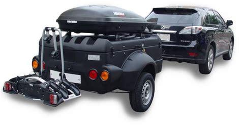 versa cargo box  roof rack trailers