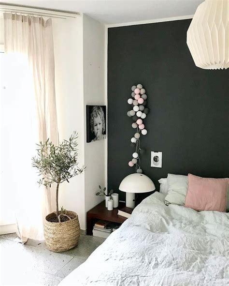 Lichterkette Im Schlafzimmer by Lichterkette Pink Grey Interior Schlafzimmer
